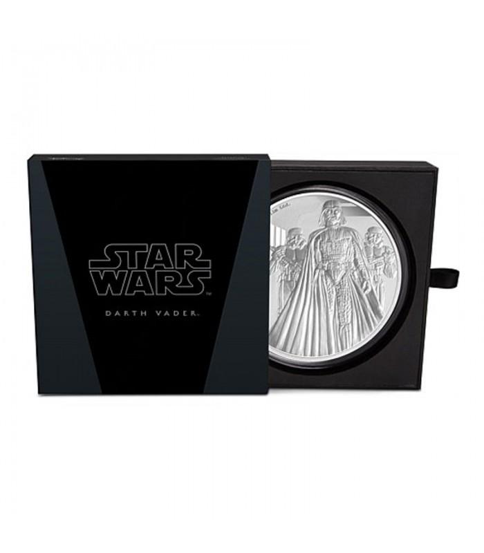 Star Wars Classic Darth Vader 1 Kilo Silver Coin