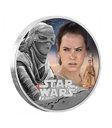 Star Wars: The Force Awakens - Rey Silver Coin