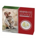 Lunar Silver Coin Series II 2016 Year of the Monkey 1oz Silver Proof High Relief Coin