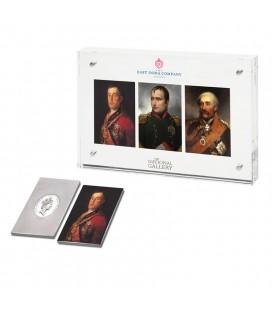 The Commanders 3 Silver Ingot Set