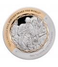 Gandhi Fine Silver Coin Set of 5 Coins