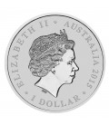 Longest Reigning Monarch Her Majesty Queen Elizabeth II 2015 1oz Silver Intaglio Coin