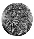 Norse Gods – Odin 2016 2oz Silver High Relief Antiqued Coin