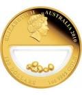 Treasures of Australia Gold 1oz Gold Locket Coin