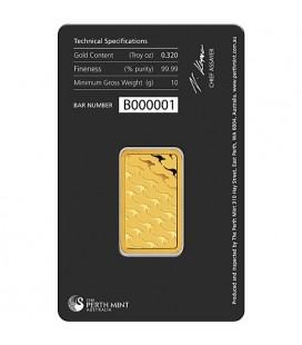 PERTH MINT 10 Gram Gold Bar