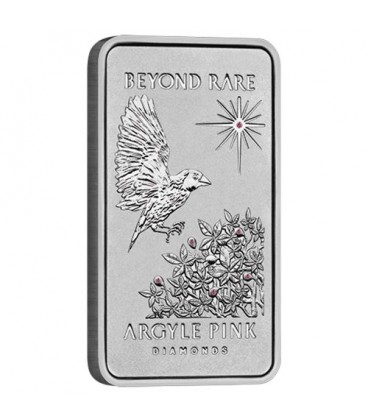 Argyle Pink Diamond 2015 1oz Platinum Ingot