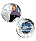 Star Trek: Deep Space Nine – Captain Benjamin Sisko &Deep Space 9 2015 1oz Silver Proof Two-Coin Set