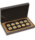 2014 Year of the Horse 1/10oz Gold Square Ten-Coin Collection