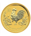 1 kg 2017 Lunar Year of the Rooster Gold Coin