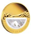 Treasures of Australia - Pearls 1oz Gold Proof Locket Coin