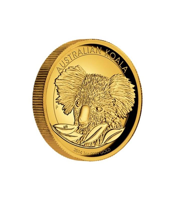 Gold Australian Platinum: Australian Koala 2014 Gold Proof Coin Series