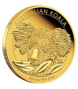 Australian Koala 2014 5oz Gold Proof Coin