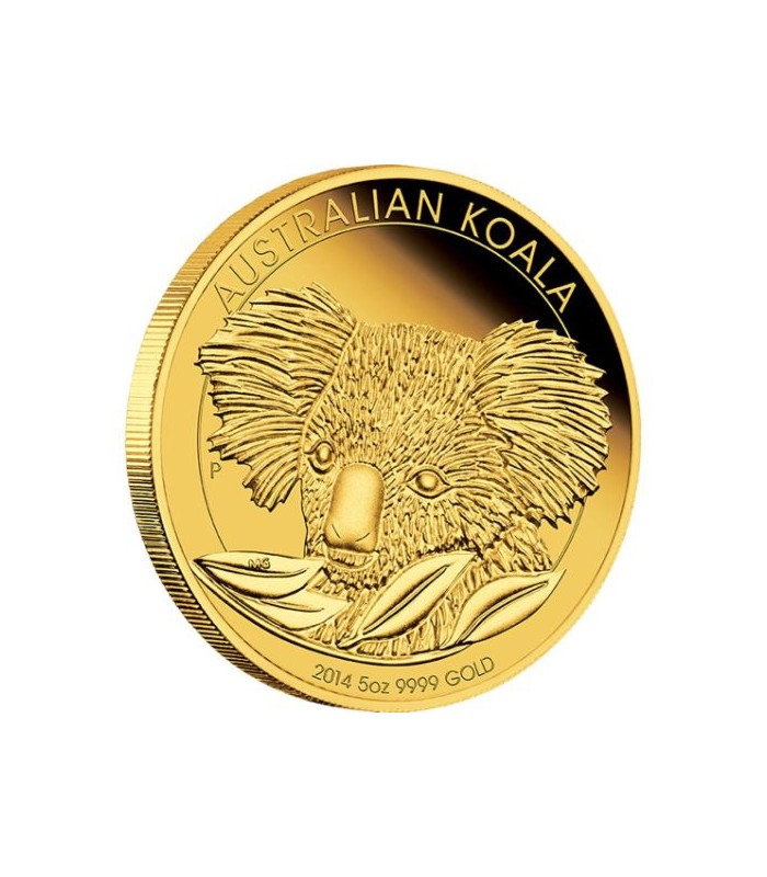 Australian Koala 5oz Gold Proof Coin 2014