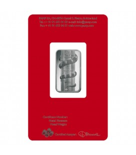 2013 Silver Lunar Snake - 10 Grams